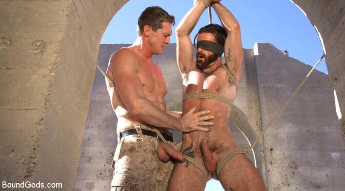 Brendan Patrick in  Boundgods Muscled Rope Slut Abducted, Bound, Flogged, and Fucked October 26, 2017  Rimming, Gay