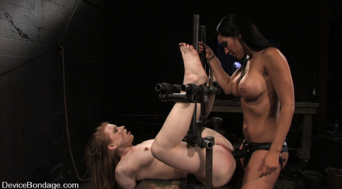 Madison Young in  Devicebondage Madison, Sindee Jennings and Isis Love Part 2 of 4 of the April live feed. June 03, 2009  Submission, Pain