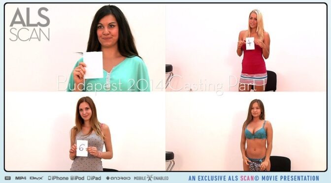Adelle Booty in  Alsscan Budapest 2014 Casting Part 1 February 07, 2015  Behind The Scenes