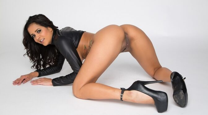 Abby Lee Brazil in  Cherrypimps So Freaking HOT January 07, 2015  Solo, Black Hair