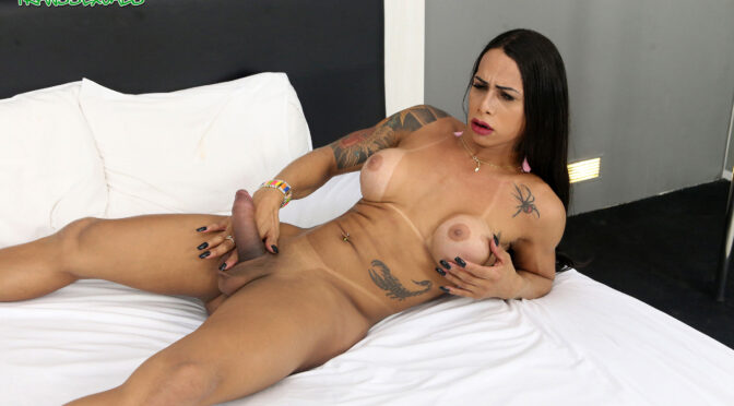 Rosy Pinheiro in  Brazilian-transsexuals Rosy Pinheiro Fitness February 19, 2019  Transsexual