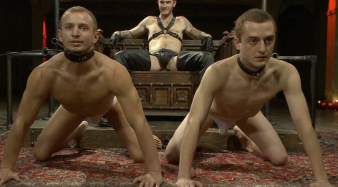 Randall O'Reilly in  Boundgods Life is Not Fair – Live Shoot January 02, 2013  Chastity, Suspension