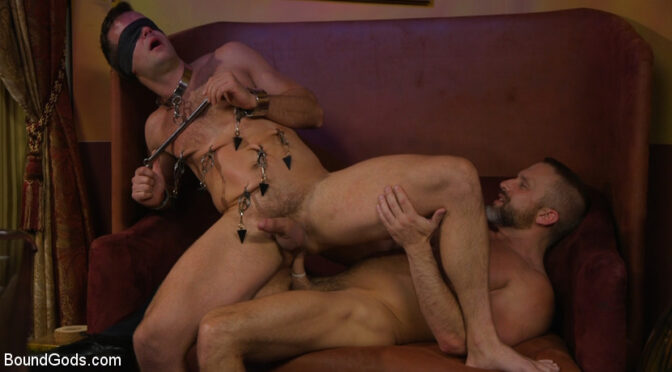 Dirk Caber in  Boundgods Hungry Daddy Fucks Younger Muscled Pain Slut September 07, 2017  Anal, Bdsm
