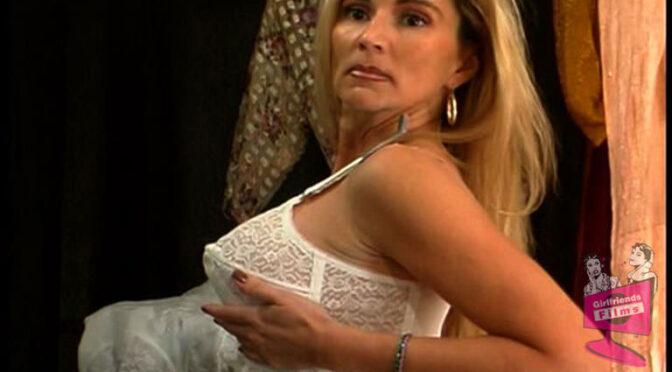 Dee in  Girlfriendsfilms Dressing Room Lingerie #01, Scene #06 January 06, 2004  Stockings, Toys