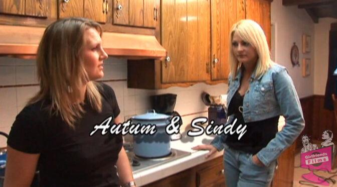 Autum Moon in  Girlfriendsfilms Lesbian Seductions #06, Scene #04 June 14, 2012  Blonde, Kissing