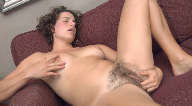Saige in  Wearehairy Hairy Saige would rather bush her own buttons July 15, 2012  Hairy Armpits, Masturbation