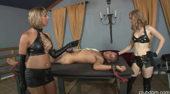 Goddess Brianna in  Clubdom Make Your Mistress Cum Or Your Balls Will Fry August 22, 2013  Electroshock