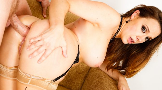 Chanel Preston in  Evilangel Anal Is My Business October 11, 2013  Blowjob, Hardcore