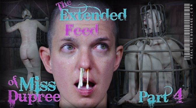 Abigail Dupree in  Realtimebondage The Extended Feed of Miss Dupree Part 4 September 12, 2015  Nose Hook, Breast Whipping