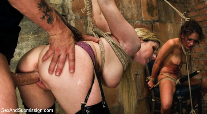 Ziggy Star in  Sexandsubmission Graphic Anal Bondage August 28, 2015  Submission, Cage