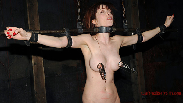 Emily Marilyn in  Infernalrestraints Foot Girl February 12, 2010  Rough Sex, BDSM