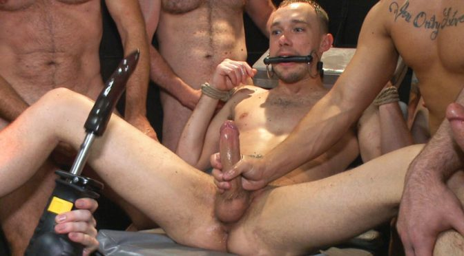 Aleks Buldocek in  Boundinpublic Giant cock whored out to the horny public July 18, 2014  Bdsm, Anal