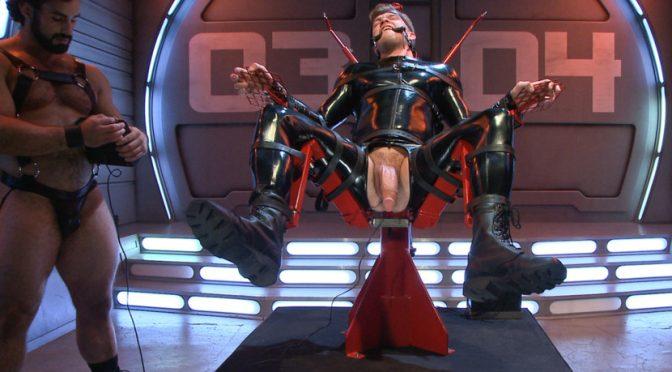 Jaxton Wheeler in  Boundgods The Onyx Converter – The Onyx vs The Redz Series August 14, 2014  Feet, Blowjob