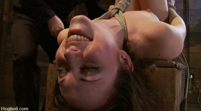 Seda in  Hogtied Amateur Casting Couch: Seda, A Fucking Porn Star is Born! January 16, 2010  Rope Bondage, Straight