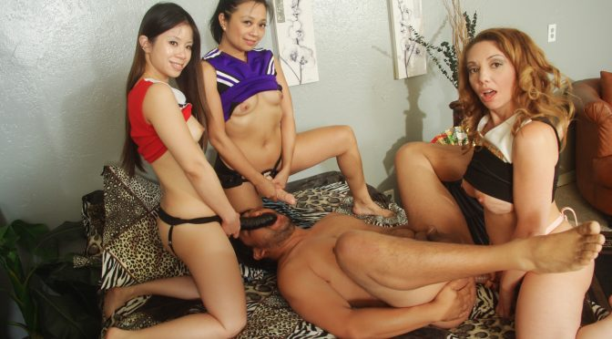 Kiki Daire in  Whiteghetto Begging For A Gang Bang Pegging, Scene #01 September 18, 2015  Deepthroat, Natural Tits