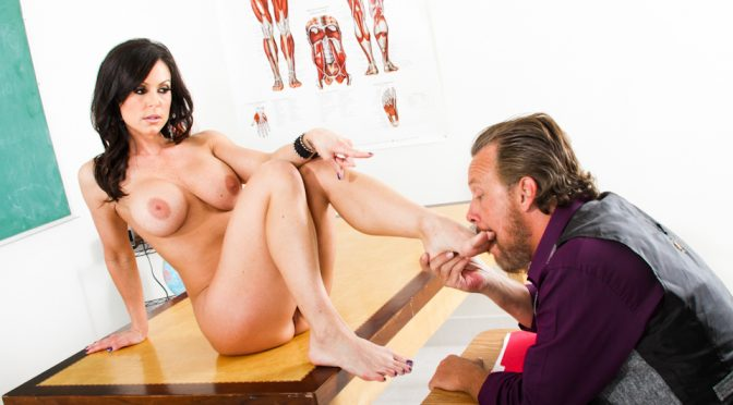 Asa Akira in  Evilangel FemDom Ass Worship #20 February 12, 2013  Pantyhose, Brunette