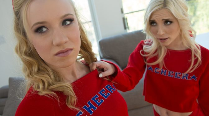 Piper Perri in  WebYoung Rival Cheerleaders: Part One February 26, 2016  Petite, Family Roleplay