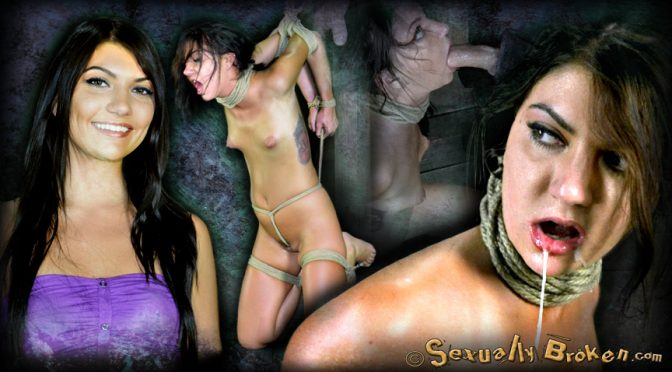 Cassandra Nix in  Sexuallybroken 19 year old Midwest girl is skull fucked, made to cum, suffers brutal bondage! September 05, 2012  BDSM, Rough Sex