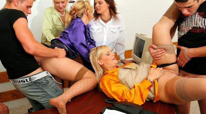 Celine Noiret in  Fullyclothedsex Doing Whatever In Takes In Style October 31, 2013  Group Sex