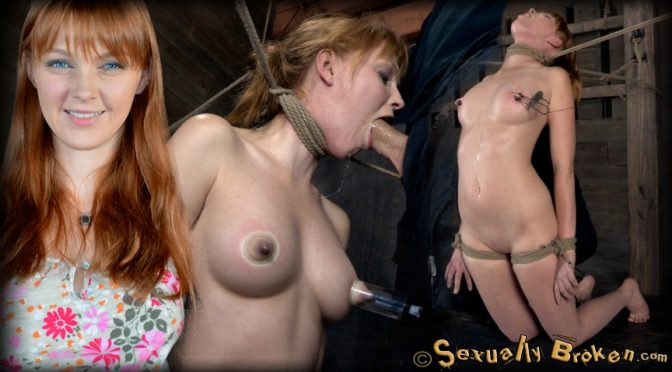 Marie McCray in  Sexuallybroken Throat Abuse June 18, 2012  Rough Sex, Bondage