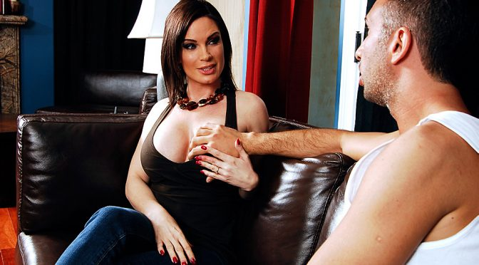 Diamond Foxxx in  Mommygotboobs Helping with the Chores April 01, 2011  Brunette, Big Tits Worship