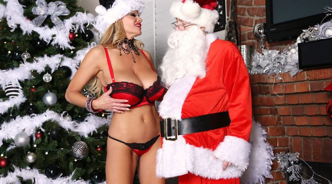 Kelly Madison in  Kellymadison Kelly and Kinky Kringle December 20, 2012  Blonde