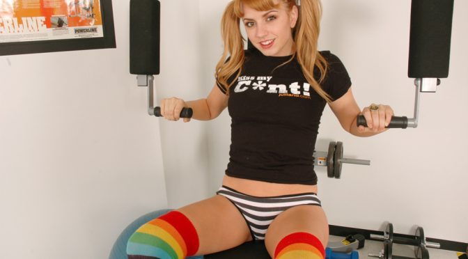 Lexi Belle in  Livegymcam Lexi Belle in Live Gym Cam #10 April 15, 2010  General