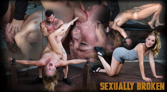 Mona Wales in  Sexuallybroken Hot Domme Mona Wales, is bound down and brutally dicked down, rough face fucking and O's October 14, 2016  Bondage, BDSM