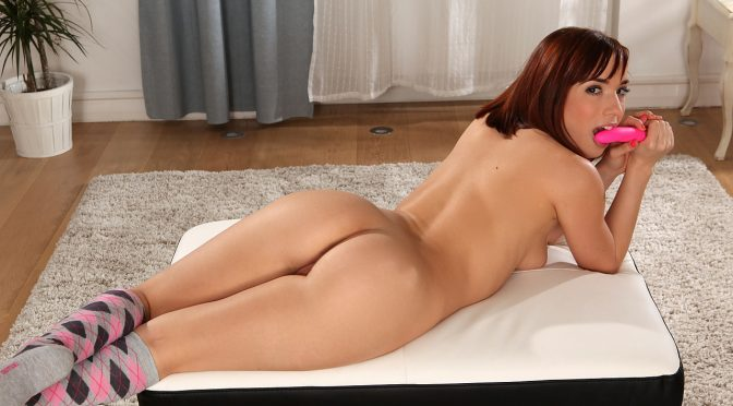 Tina Hot in  Nubiles Bouncy Babe March 24, 2015  Landing Strip Pussy, Short Hair