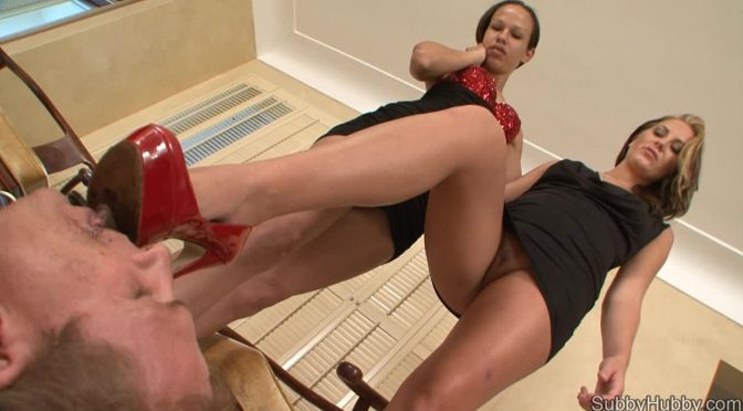 Hayden Bell in  Subbyhubby Cuckold Shoe Cleaner June 26, 2012  Feet Cuckold