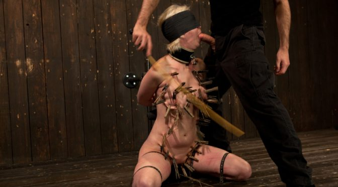 Cherry Torn in  Devicebondage Cherry Torn Throat Fucked, Blindfolded, Beaten, and Abused! February 15, 2012  Submission, Cherry Torn