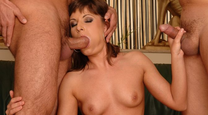 Maloo in  21sextury Deepthroatfrenzy with Maloo October 26, 2007  Threesome, Babes
