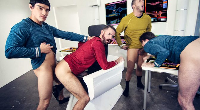 Brendan Patrick in  Supergayhero Star Trek : A Gay XXX Parody Part 1 October 31, 2016  Gay Porn