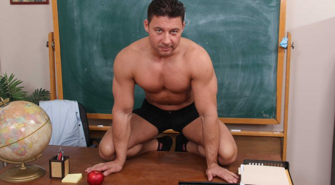 Robert Van Damme in  Bigdicksatschool Greek History 101 February 10, 2012  Gay Porn