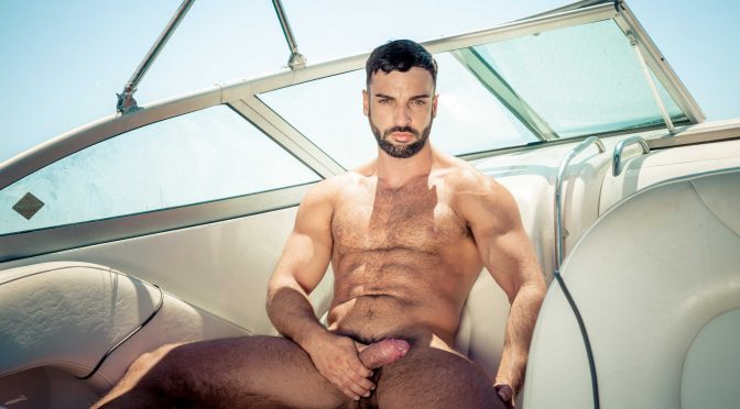 Abraham Al Malek in  Drillmyhole Men In Ibiza Part 2 August 14, 2014  Gay Porn