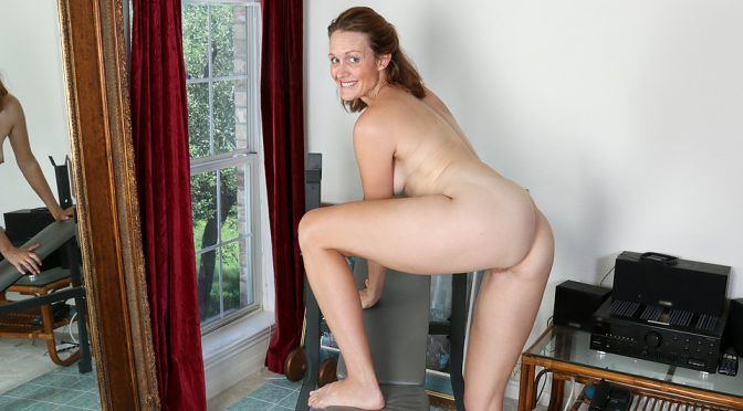 Camille Johnson in  Anilos Tight And Toned November 30, 2015  Panties, Brunette