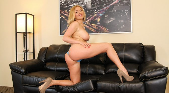 Krissy Lynn in  Cherrypimps Krissy Lynn Solo September 15, 2013  Blonde, Masturbation