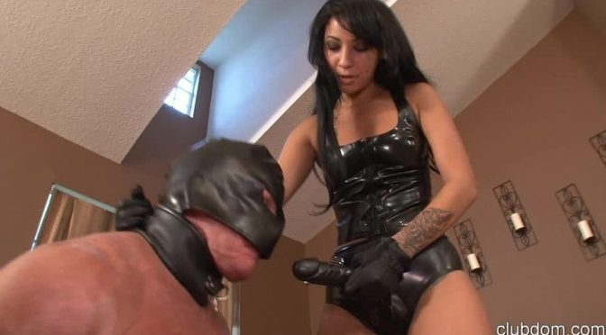 Esmi Lee in  Clubdom Lesson In Femdom With Aunt Venus PT 4 October 21, 2013  Strapon