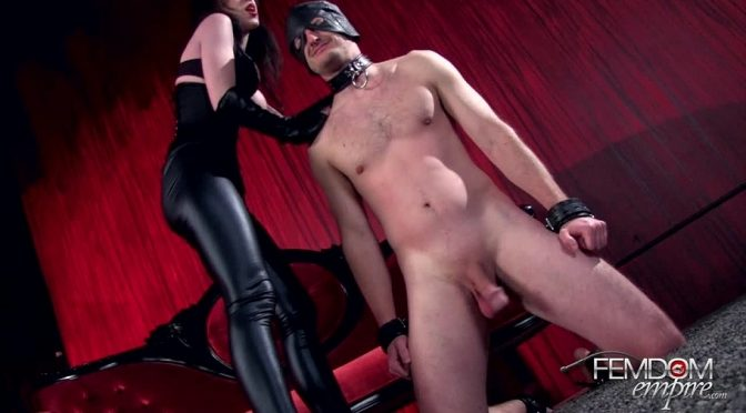 Mina Thorne in  Femdomempire Ball Breaking Bitch April 26, 2013  Ballbusting