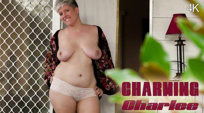 Charlee in  Girlsoutwest Charlee – Charming June 27, 2018  Masturbation, Short Hair