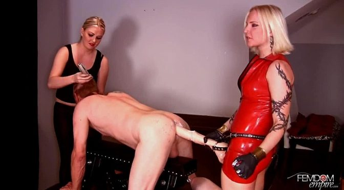 Coral Korrupt in  Femdomempire Stallion Cock June 10, 2012  Blonde