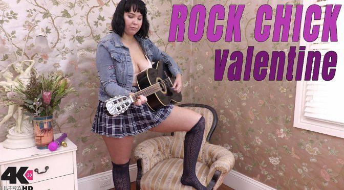Valentine in  Girlsoutwest Valentine – Rock Chick August 21, 2017  Masturbation, Curvy