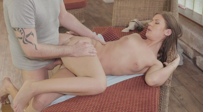 Thomas Stone in  Relaxxxed Beautiful Hungarian gets cum covered in slow sensual fuck by the pool September 24, 2018  Doggy Style, Beautiful