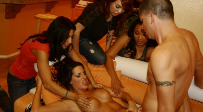 Kourtney Kane in  Crueltyparty Horny After Party Strip Tease March 02, 2011  Group Sex