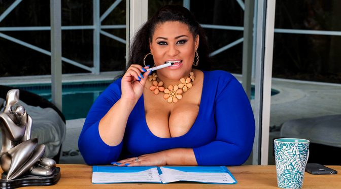 Ashley Heart in  Plumperpass Gigolo Jigglin' April 25, 2016  Brown Eyes, Doggystyle