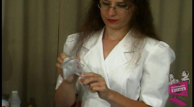 Lena Ramon in  Girlfriendsfilms Lesbian Hospital #01, Scene #05 January 06, 2004  Strap On, Brunette