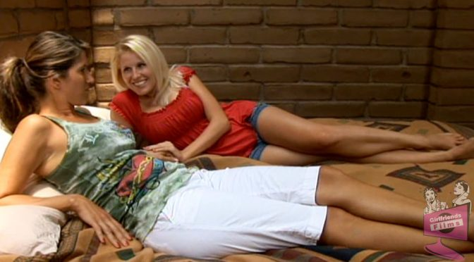 Torri Secret in  Girlfriendsfilms Lesbian Triangles #12, Scene #03 December 21, 2013  Big Tits