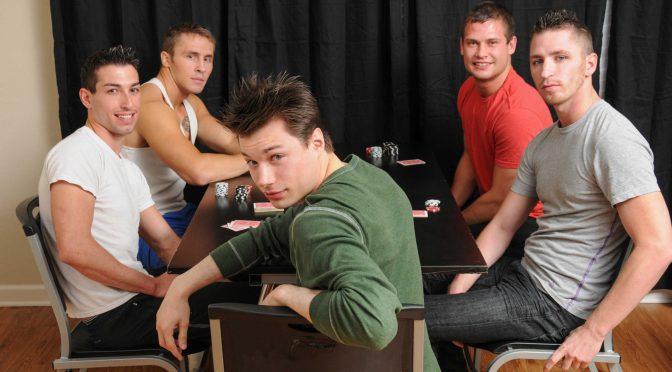 Dominic Reed in  Jizzorgy Poker Night November 02, 2012  Gay Porn