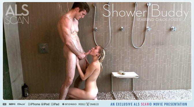 Brick Danger in  Alsscan Shower Buddy April 10, 2015  Boy Girl, Shower