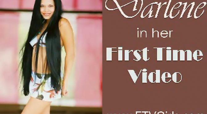 Darlene in  Ftvgirls Sunny & Dry October 01, 2002  Dildo Play, Real Orgasms
